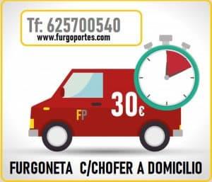 alquiler de furgoneta por horas Madrid