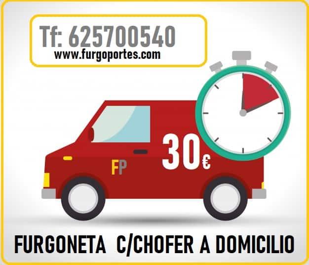 furgo portes alquiler de furgoneta por horas barrio del pilar