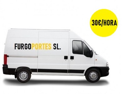 furgonetas por horas madrid portes baratos 30