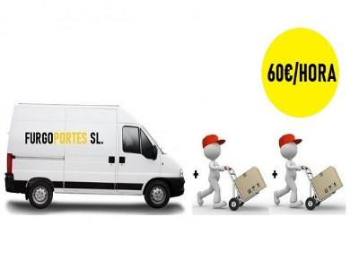 furgonetas por horas madrid portes baratos 60