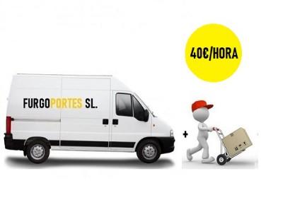 alquiler de furgonetas por horas leganes 40 euros